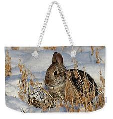 Snow Bunny Weekender Tote Bag by Penny Meyers