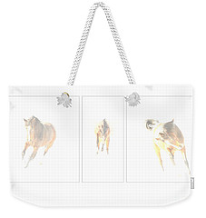 Snow Dance Weekender Tote Bag
