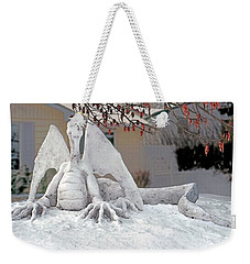 Snow Dragon 3 Weekender Tote Bag