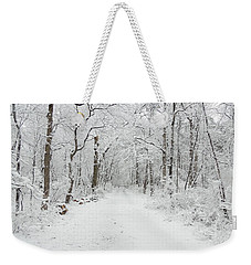 Snow In The Park Weekender Tote Bag
