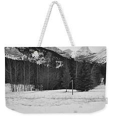 Snow Prints Weekender Tote Bag