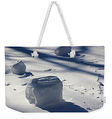 Snow Roller Trio In Shadows Weekender Tote Bag