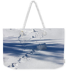 Snow Rollers Weekender Tote Bag