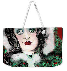 Snow White Winter Weekender Tote Bag