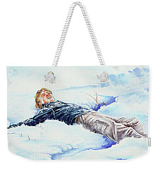 Snowball War Weekender Tote Bag