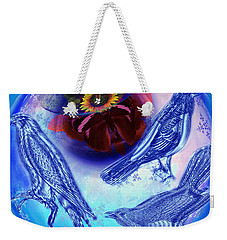 Snowbirds Flock To Eternal Spring Weekender Tote Bag by Joseph Mosley