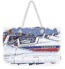 Snowbirds Weekender Tote Bag by Richard Farrington