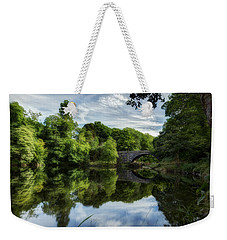 Snowdonia Summer On The River Weekender Tote Bag