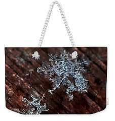 Snowflake Weekender Tote Bag by Suzanne Stout