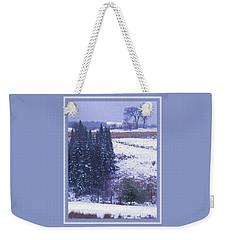 Snow's Arrival Weekender Tote Bag