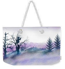 Snowstorm In Catskill Ipad Version Weekender Tote Bag by Frank Bright