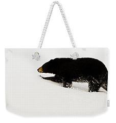 Snowy Bear Weekender Tote Bag