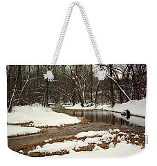 Snowy Creek Weekender Tote Bag