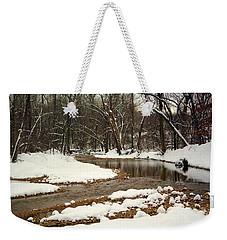 Snowy Creek Weekender Tote Bag