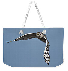 Snowy Weekender Tote Bag by Wes and Dotty Weber