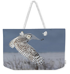 Snowy In Action Weekender Tote Bag by Mircea Costina Photography