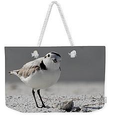 Snowy Plover Weekender Tote Bag