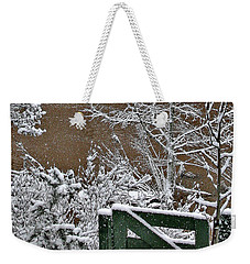Snowy River Gate Weekender Tote Bag