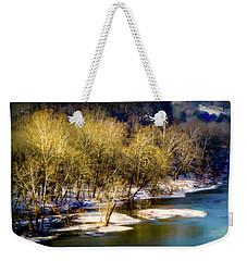 Snowy River Weekender Tote Bag by Karen Wiles