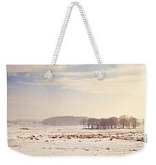 Snowy Valley Weekender Tote Bag