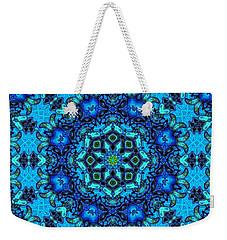 So Blue - 33 - Mandala Weekender Tote Bag