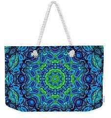 So Blue - 43 - Mandala Weekender Tote Bag