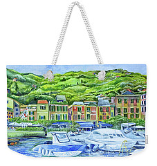 So This Is Portofino Weekender Tote Bag