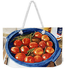 Soaking Tomatoes Weekender Tote Bag