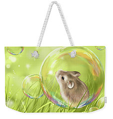 Soap Bubble Weekender Tote Bag