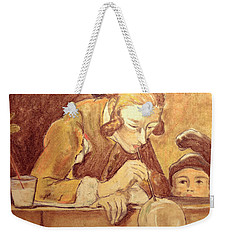 Soap Bubbles Weekender Tote Bag by Tine Nordbred