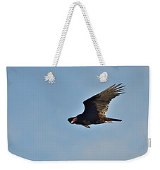 Weekender Tote Bag featuring the photograph Soaring by David Porteus