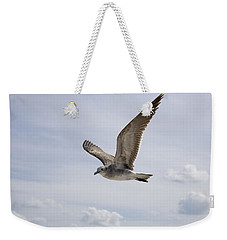 Soaring Gull Weekender Tote Bag