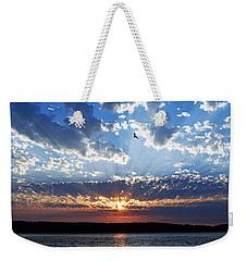 Soaring Sunset Weekender Tote Bag