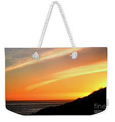 Weekender Tote Bag featuring the photograph Socal Coastal Sunset by Clayton Bruster