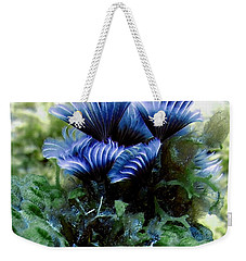 Social Feather Duster Cluster - A Social Gathering Weekender Tote Bag by Amy McDaniel