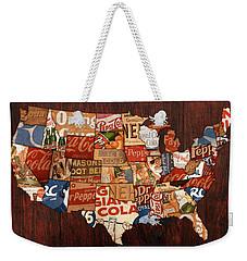 Soda Pop America Weekender Tote Bag