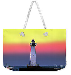 Sodus Outer Lighthouse Weekender Tote Bag