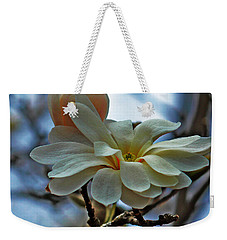 Soft Blooms Weekender Tote Bag