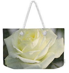 Soft Cream Rose Weekender Tote Bag