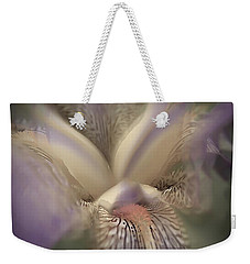 Soft Iris Flower Weekender Tote Bag