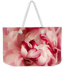 Soft Peony Weekender Tote Bag