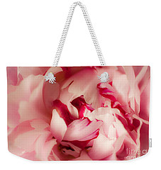 Soft Peony Weekender Tote Bag by Ana V Ramirez