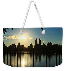 Soft Reflections Weekender Tote Bag by Catie Canetti