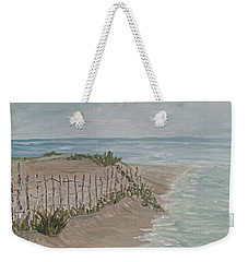 Soft Sea Weekender Tote Bag