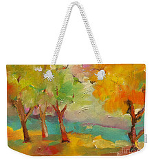 Soft Trees Weekender Tote Bag