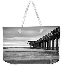 Soft Waves At Scripps Pier Weekender Tote Bag