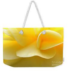 Soft Yellow Weekender Tote Bag