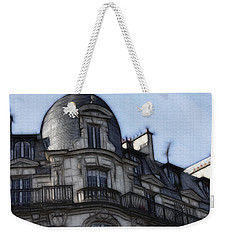 Softer Side Of Paris Architecture Weekender Tote Bag