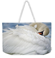 Softly Sleeping Weekender Tote Bag by Deb Halloran