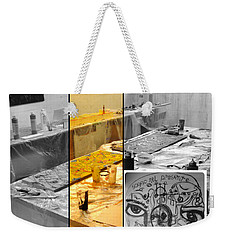 Weekender Tote Bag featuring the photograph Sogno Nel Presente Part One by Sir Josef - Social Critic - ART